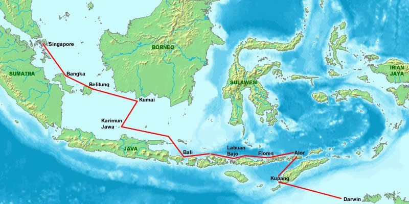 Sail Indonesia on map of delhi, map of bali, map of kota kinabalu, map of singapore, map of mumbai, map of lukla, map of taipei, map of goa, map of barcelona, map of cancun, map of toronto, map of glasgow, map of johannesburg, map of maldives, map of colombo, map of seoul, map of sabah, map of melaka, map of padang besar, map of mauritius,